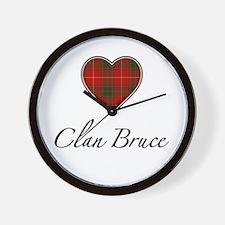 Love Clan Bruce Wall Clock