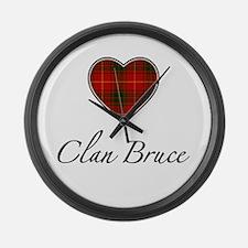 Love Clan Bruce Large Wall Clock