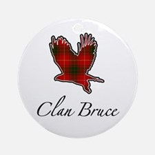 Clan Bruce Eagle Ornament (Round)