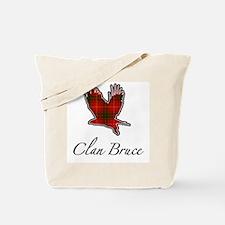 Clan Bruce Eagle Tote Bag