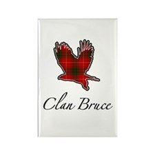 Clan Bruce Eagle Rectangle Magnet