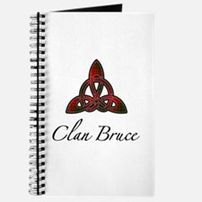 Clan Bruce Celtic Knot Journal