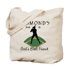 Diamonds - Girl's Best Friend Tote Bag