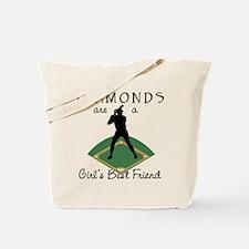 Diamonds - Girl's Best Friend Tote Bag