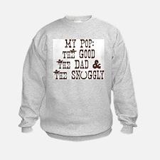 My Pop: Good, Dad, & Snuggly Sweatshirt
