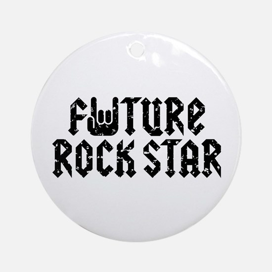 Future Rock Star Ornament (Round)