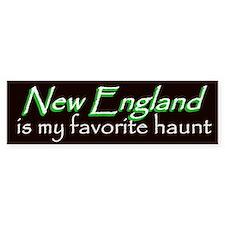 New England Haunt Bumper Sticker - Green
