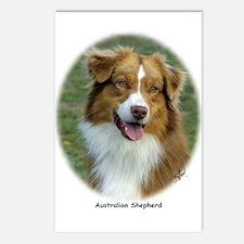 Australian Shepherd 9K5D-02 Postcards (Package of