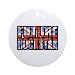 Future Rockstar Ornament (Round)