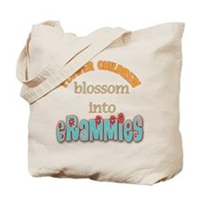 Grammie Flower Child Tote Bag