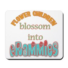 Grammie Flower Child Mousepad