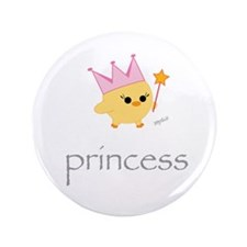 "Princess 3.5"" Button"