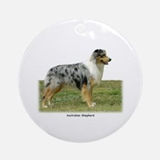 Australian Shepherd 9K7D-20 Ornament (Round)