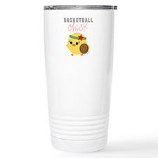 Basketball Chick Travel Mug