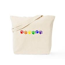 Paw Print Pride Tote Bag