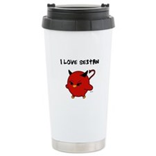Love Seitan Travel Mug
