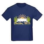 Forks #2 Kids Dark T-Shirt