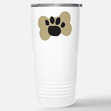 Dog Lover Paw Print Travel Mug