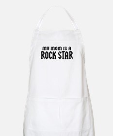 My Mom is a Rock Star BBQ Apron