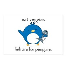 Pengy Fish for Penguins Postcards (Package of 8)