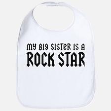My Big Sister is a Rock Star Bib