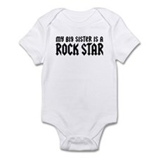 My Big Sister is a Rock Star Infant Bodysuit