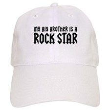 My Big Brother is a Rock Star Baseball Cap