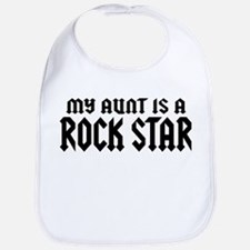 My Aunt is a Rock Star Bib