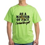 Hunt Like A Girl Green T-Shirt