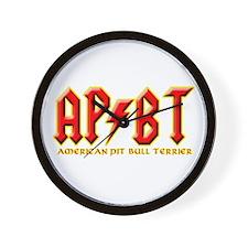rockin' APBT'S Wall Clock