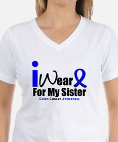 I Wear Blue For My Sister Shirt