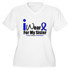 I Wear Blue For My Sister T-Shirt