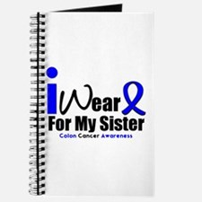 I Wear Blue For My Sister Journal
