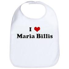 I Love Maria Billis Bib
