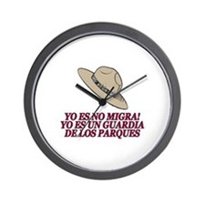Yo Es No Migra Wall Clock