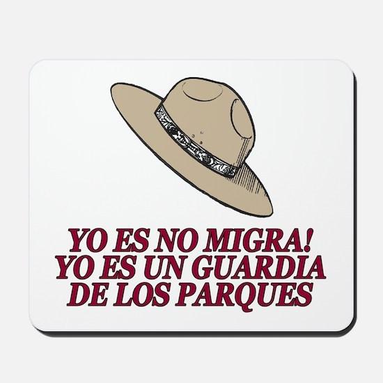 Yo Es No Migra Mousepad