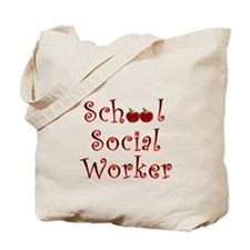 School Social Worker Tote Bag