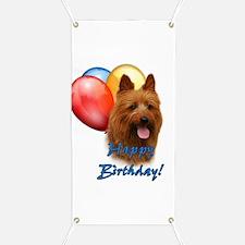 Aussie Terrier Balloon Banner