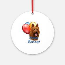 Aussie Terrier Balloon Ornament (Round)