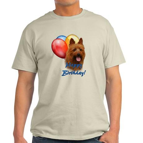 Aussie Terrier Balloon Light T-Shirt