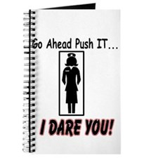 Don't Push My Button Journal