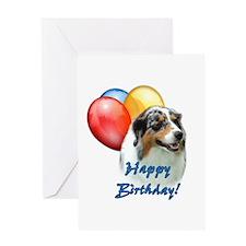 Aussie Balloon Greeting Card