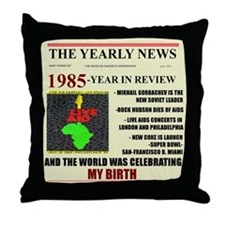 born in 1985 birthday gift Throw Pillow