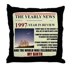 born in 1997 birthday gift Throw Pillow