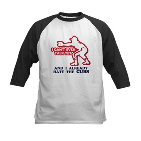 Baby Humor Anti Cubs Kids Baseball Jersey