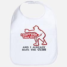 Baby Humor Anti Cubs Bib