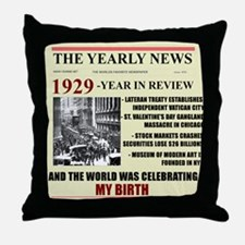 born in 1929 birthday gift Throw Pillow