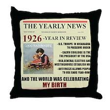 born in 1926 birthday gift Throw Pillow