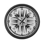 Southwestern Indian Large Wall Clock