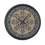 Persian Motif Large Wall Clock